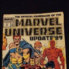 Cómics: MARVEL UNIVERSE Nº 4 OCT ESTADO BUENO . Lote 97160423