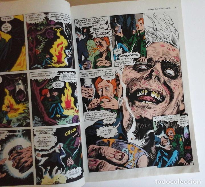 Cómics: Swamp thing, the curse. Volumen de Alan Moore con Bissette y Tottleben. Original USA - Foto 4 - 189359898