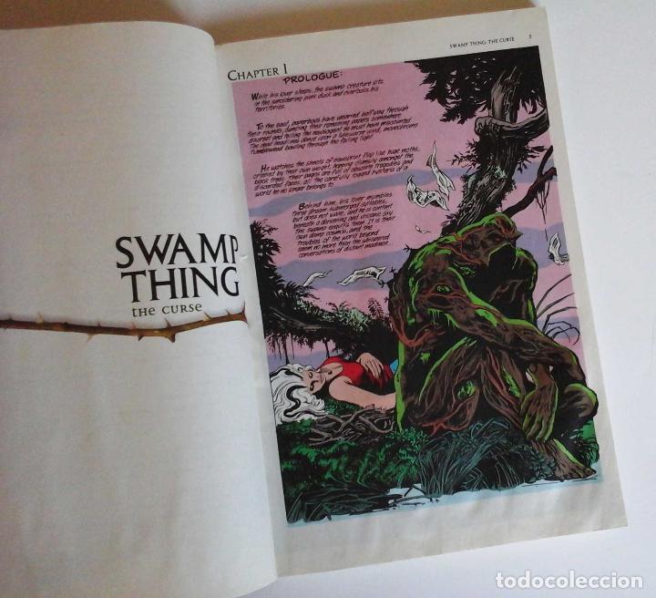 Cómics: Swamp thing, the curse. Volumen de Alan Moore con Bissette y Tottleben. Original USA - Foto 5 - 189359898
