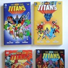 Cómics: NEW TEEN TITANS, DE MARK WOLFMAN Y GEORGE PEREZ. 4 TOMOS. AHORRO DE 20 €. Lote 97188351