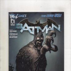 Cómics: BATMAN 6 - DC 2012 NEW 52 - VFN. Lote 97397519