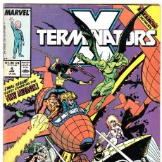 Cómics: X-TERMINATORS #4 1989 INFERNO NEW MUTANTS X-FACTOR MARVEL COMICS. Lote 97542491