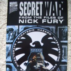 Cómics: SECRET WAR: FROM THE FILES OF NICK FURY (MARVEL, 2005). Lote 97838292