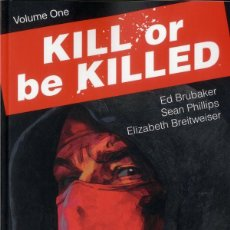 Cómics: KILL OR BE KILLED TPB Nº 1 - ED BRUBAKER - SEAN PHILLIPS - IMAGE. Lote 98157539