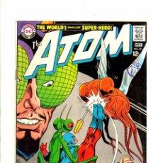 Cómics: ATOM 33 - DC 1967 FN GIL KANE. Lote 98675943