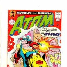 Cómics: ATOM 36 - DC 1968 VG+ GIL KANE / SIVER AGE ATOM VS GOLDEN AGE ATOM. Lote 98676683