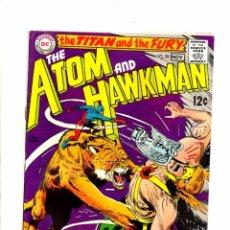 Cómics: ATOM AND HAWKMAN 39 - DC 1968 FN-. Lote 98677539