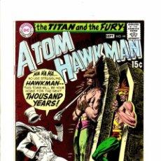 Cómics: ATOM AND HAWKMAN 44 - DC 1969 FN/VFN. Lote 98678107