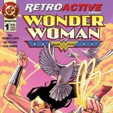 Cómics: DC COMICS RETROACTIVE 1990S: WONDER WOMAN + BATMAN + SUPERMAN + THE FLASH + GREEN LANTERN. Lote 98860303