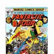 Cómics: FANTASTIC FOUR 185 - MARVEL 1977 VFN/NM GEORGE PEREZ. Lote 99290443