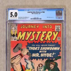 Cómics: THOR 100 JOURNEY INTO MYSTERY - MARVEL 1964 - CGC 5.0 VG/FN. Lote 100023571