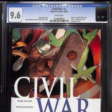 Cómics: CIVIL WAR 4 - MARVEL 2006 CGC 9.6 NM+. Lote 100709687