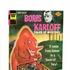 Cómics: BORIS KARLOFF TALES OF MYSTERY 71 - GOLD KEY / WHITMAN 1976 - VFN. Lote 101087511