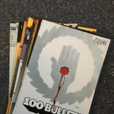 Cómics: 100 BULLETS LOTE DE 9 COMICS - 100 BALAS. Lote 101222171
