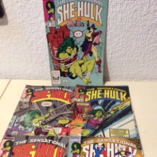 Cómics: THE SENSATIONAL SHE HULK Nº 6,9,10,17 (HULKA) EDICION EN INGLES. Lote 244794840
