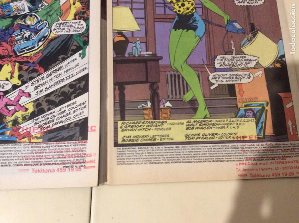 Cómics: THE SENSATIONAL SHE HULK nº 6,9,10,17 (HULKA) EDICION EN INGLES - Foto 2 - 244794840