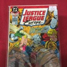 Cómics: JUSTICE LEAGUE EUROPE ANNUAL 1990 NUMERO 1 MUY BUEN ESTADO REF.6. Lote 101279511