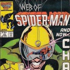 Cómics: WEB OF SPIDER-MAN VOL.1 # 15 (MARVEL,1986). Lote 101532823