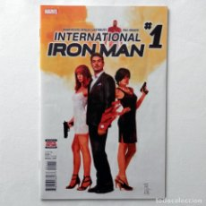 Cómics: INTERNATIONAL IRON MAN Nº 1 - ORIGINAL USA - MARVEL COMICS - EN INGLÉS. Lote 101544735