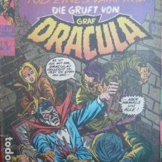 Cómics: DRACULA -MARVEL COMIC -NR 13 -EN ALEMAN -IN GERMANY. Lote 101581071