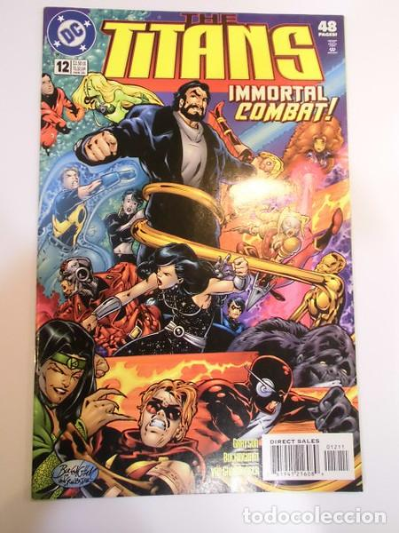 THE TITANS - NUM 12 - EN INGLES - DC COMICS- 2000 (Tebeos y Comics - Comics Lengua Extranjera - Comics USA)
