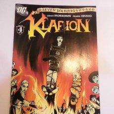 Cómics: KLARION NUM 4 OF 4 - EN INGLES - DC COMICS- 2005. Lote 101904606