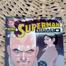 Cómics: SUPERMAN. LEGADO. NORMA EDITORIAL. NUMERO 2 SIN USO. W. Lote 101985407