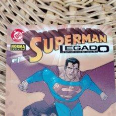 Cómics: SUPERMAN. LEGADO. NUMERO 1 NORMA EDITORIAL SIN USO. W. Lote 101985635
