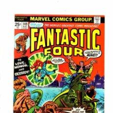 Cómics: FANTASTIC FOUR 149 - MARVEL 1974 - VFN / NAMOR. Lote 102048691