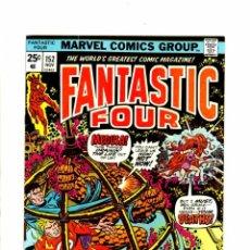 Cómics: FANTASTIC FOUR 152 - MARVEL 1974 - FN/VFN. Lote 102048935