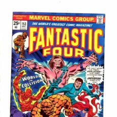 Cómics: FANTASTIC FOUR 153 - MARVEL 1974 - VFN. Lote 102049031