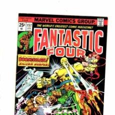 Cómics: FANTASTIC FOUR 157 - MARVEL 1975 - VFN SILVER SURFER / DOCTOR DOOM . Lote 102049543