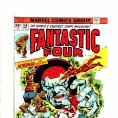 Cómics: FANTASTIC FOUR 158 - MARVEL 1975 - FN/VFN . Lote 102050195