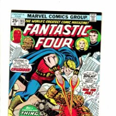Cómics: FANTASTIC FOUR 165 - MARVEL 1975 - VFN+ RETURN OF MARVEL BOY / QUASAR . Lote 102051471