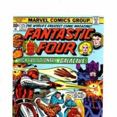 Cómics: FANTASTIC FOUR 175 - MARVEL 1976 VFN- JOHN / HIGH EVOLUTIONARY VS GALACTUS. Lote 102052995