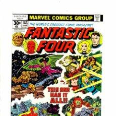 Cómics: FANTASTIC FOUR 183 - MARVEL 1977 VFN. Lote 102055499