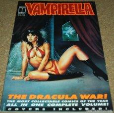 Cómics: VAMPIRELLA - 1994 USA -THE DRACULA WAR - ALL IN ONE COMPLETE VOLUME. Lote 102420315