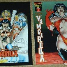 Cómics: VAMPIRELLA WIZARD MINI COMIC 5 - 1995 USA -CON SU SUPLEMENTO VENGEANCE OF VAMPIRELLA, USA 1995 -. Lote 102420879