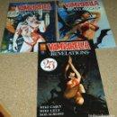 Cómics: VAMPIRELLA REVELATIONS USA 2005, LOTE CON LOS Nº 0, 1 Y 2 - RAROS EJEMPLARES- VER FOTOS. Lote 102421799