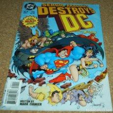 Cómics: DESTROYS Nº 1- 1996 DC USA- SERGIO ARAGONÉS - RARISIMO Y MUY BUEN EJEMPLAR- LEER VER FOTOS. Lote 102440691