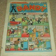 Cómics: THE DANDY Nº 711, 1955 INGLÉS - RARO EJEMPLAR- VER FOTOS. Lote 102456099
