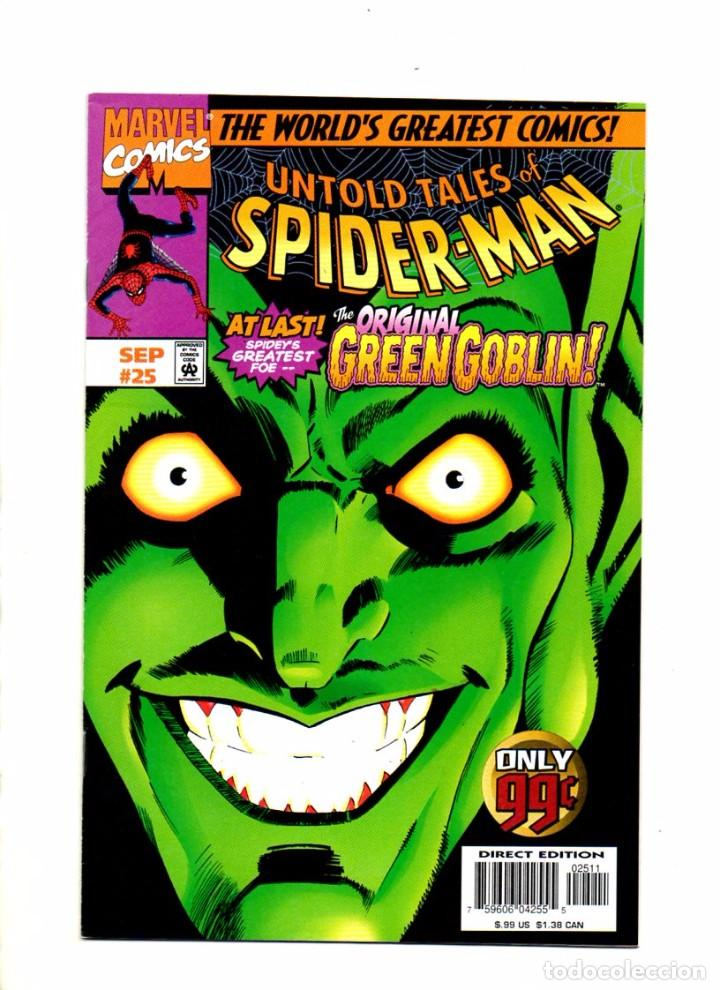 UNTOLD TALES OF SPIDER-MAN 25 - MARVEL 1997 VFN/NM (Tebeos y Comics - Comics Lengua Extranjera - Comics USA)