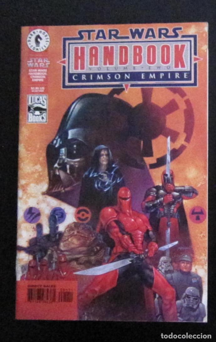 STAR WARS: IMPERIO CARMESÍ - HANDBOOK VOLUME TWO - 1999 - IMPORTACIÓN U.S.A. (Tebeos y Comics - Comics Lengua Extranjera - Comics USA)