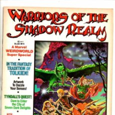 Cómics: MARVEL COMICS SUPER SPECIAL 10 WARRIORS OF THE SHADOW REALMS WEIRDWORLD - MARVEL MAGAZINE 1979 VFN. Lote 103187171