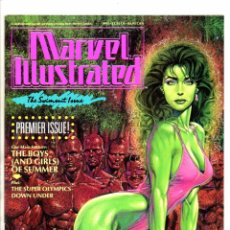 Cómics: MARVEL ILLUSTRATED SWIMSUIT ISSUE - MARVEL MAGAZINE 1991 VFN/NM. Lote 103187727