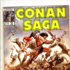 Cómics: CONAN SAGA 12 - MARVEL MAGAZINE 1988 VG. Lote 103218515