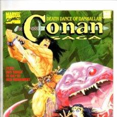 Cómics: CONAN SAGA 91 - MARVEL MAGAZINE 1994 VFN/NM. Lote 103218671