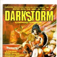 Cómics: DARKSTORM 1 - DARKSTORM MAGAZINE 1982 VFN. Lote 103221287