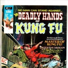 Cómics: DEADLY HANDS OF KUNG FU 2 - MARVEL MAGAZINE 1974 FN/VFN / SHANG CHI MASTER OF KUNG FU / JIM STARLIN. Lote 103221663