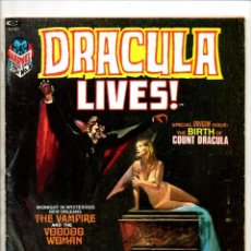 Cómics: DRACULA LIVES 2 - MARVEL MAGAZINE 1973 - GD CONTRAPORTADA SUELTA. Lote 103224707